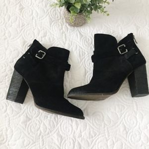 NEW Chinese Laundry | Zip It Split Suede Bootie